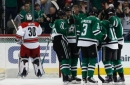 Eaves scores 2 goals, Stars beat Hurricanes 5-2