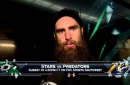 Patrick Eaves played 600th game, Stars win 5-2