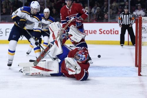 Canadiens vs Blues Top Six Minutes: Feeling Blue