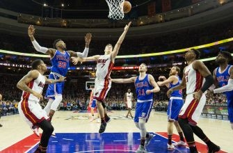 Come to an end: Heat's win streak snappy with close loss to 76ers