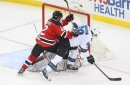 Devils' John Moore on his 1st game back from concussion