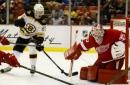 Boston Bruins Forward Peter Cehlarik Revitalizing David Krejci