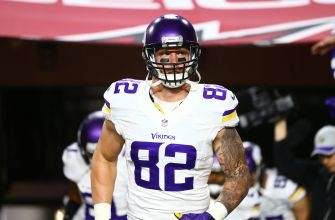 Vikings' Rudolph named 2016 Blue Collar Player of the Year