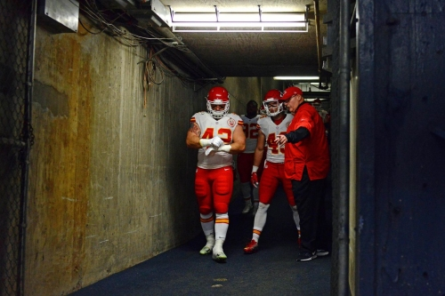 Chiefs' Andy Reid on Alex Smith and shark attacks, Jamaal Charles' future, play calling