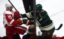 Where does Spurgeon hit rank in history of stick-to-head NHL violence?