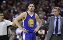 Warriors Klay Thompson, Shaun Livingston to miss Monday's game against Nuggets