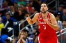 Ryan Anderson cut his thumb after a run-in with a garbage can