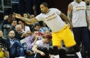 J.R. Smith could return in three weeks