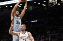 Memphis Grizzlies cruise past Brooklyn Nets, 112-103