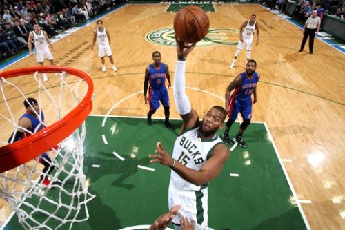 Bucks beat Pistons 102-89 behind Monroe's double-double The Associated Press