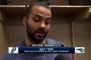 Tony Parker on making stops when needed in win over Pacers