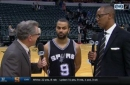 Tony Parker on ball movement in 110-106 win