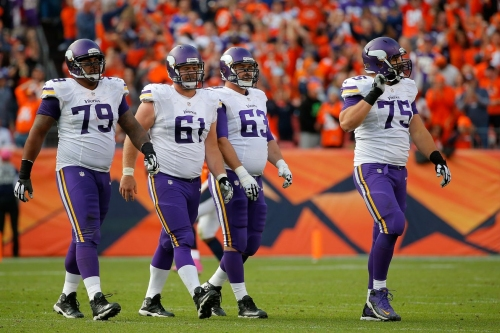 Fixing the Vikings Offensive Line