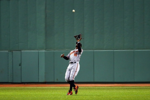 Another year, another plea for Adam Jones to play deeper in the outfield