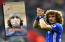 Chelsea play down David Luiz injury fears after defender shares picture of himself in hospital