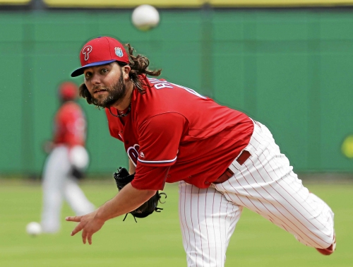 Cleveland Indians, lefty James Russell agree to minor league contract