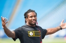 DeAngelo Williams never misses a chance to throw shade at his old team