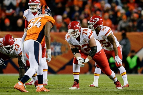 The Chiefs haven't had an offensive first round pick in four years