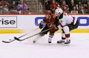 Merrill in for Helgeson as Devils host Avalanche