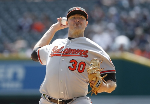 Tillman has shoulder injection and won't start O's opener The Associated Press
