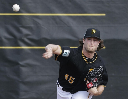 Pirates ace Cole hoping for healthier, more productive 2017 The Associated Press