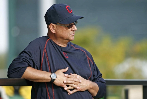 Start of spring training never gets old for Cleveland Indians manager Terry Francona