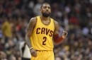Kyrie Irving lobs to Tristan Thompson for a two-handed dunk vs. Minnesota (video)