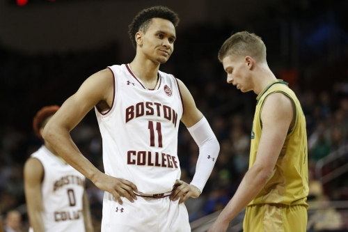 BOSTON COLLEGE MEN'S BASKETBALL FINAL SCORE: Eagles Blow Lead, Downed By Notre Dame 84-76