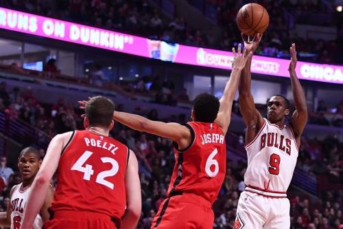 Water is wet, Bulls beat Raptors 105-94