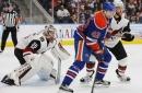 Arizona Coyotes falter against Edmonton Oilers