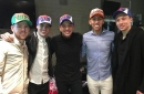 Liverpool stars Coutinho, Moreno, Firmino and Lucas meet Brazilian pop superstar Wesley Safadao
