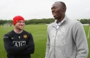 Usain Bolt claims he could be as good at football as Manchester United striker Wayne Rooney