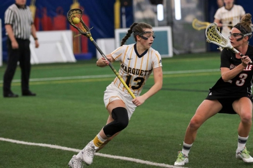 Marquette Women's Lacrosse Gets Clonked By #10 Notre Dame