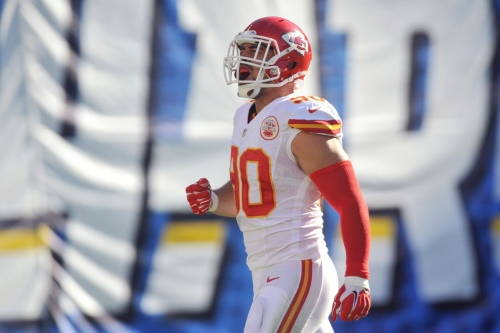 Add Josh Mauga to list of Kansas City Chiefs 2017 free agents