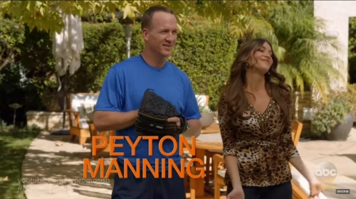 Peyton Manning will appear on 'Modern Family' on Wednesday evening
