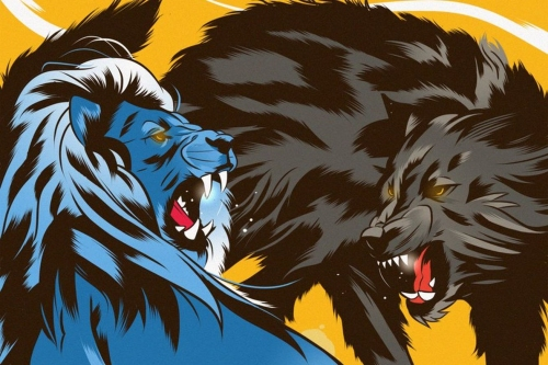The special cover art for Wolves vs. Chelsea FA Cup programme is absolutely gorgeous