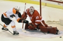 Red Wings' Jimmy Howard has setback, hopes to play in Grand Rapids next week