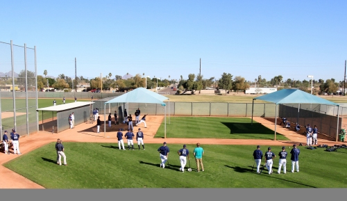 Camp report: Brewers hold first workout