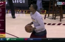 J.R. Smith gets shots up for first time since wrist injury