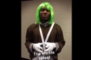 Richard Jefferson made a Cavs rookie dress as 'World's Tallest Oompa Loompa'