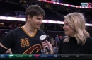 Kyle Korver discusses joining the 2000 three's club, his first dunk with Cavs