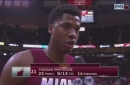 Hassan Whiteside says Heat wanted to be the more physical team