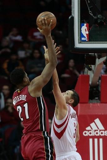 Whiteside helps Heat beat Rockets 117-109 The Associated Press
