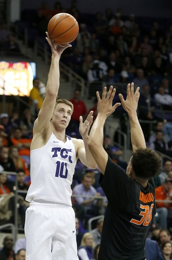 Hammonds, Oklahoma State stay hot with 71-68 win over TCU The Associated Press