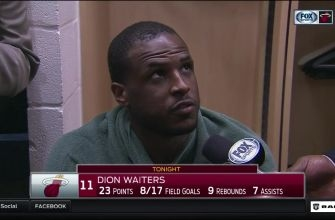 Dion Waiters: We threw the first punch and wanted it more