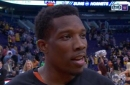 Bledsoe: I'm trying to get my team to play with intensity