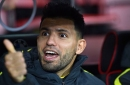 Sergio Aguero could remain Pep Guardiola's odd man out at Man City