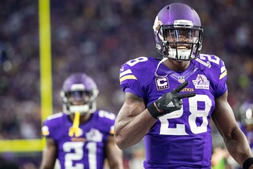 Terrell Thomas encourages Adrian Peterson to pursue Giants
