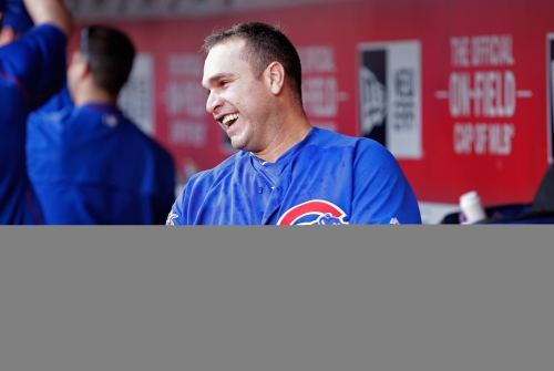 The leader in the Cubs' clubhouse is — and was — Miguel Montero