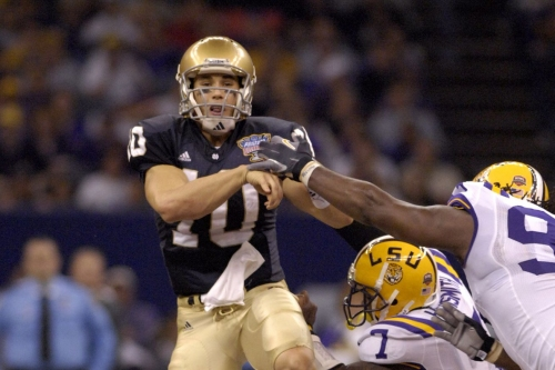 Notre Dame Football: Irish QBs at the NFL Combine